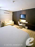 バンコク ファミリー&グループのホテル : アイ レジデンス(i Residence)のデラックス スイートルームの設備 Bedroom