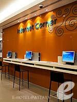 パタヤ 会議室ありのホテル : アイビス パタヤ 「Internet Corner」