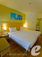 パタヤ ノースパタヤのホテル : アイビス パタヤ(Ibis Pattaya)のスタンダード ルームルームの設備 Bedroom