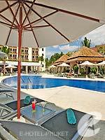 プーケット コネクティングルームのホテル : アイビス プーケット カタ 「Poolside」