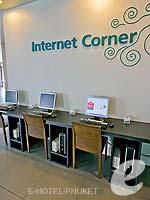プーケット カタビーチのホテル : アイビス プーケット カタ 「Internet Corner」