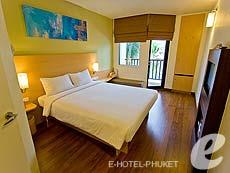 プーケット ファミリー&グループのホテル : アイビス プーケット カタ(1)のお部屋「スタンダード ルーム」