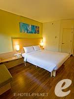 プーケット ファミリー&グループのホテル : アイビス プーケット カタ(Ibis Phuket Kata)のファミリー ルームルームの設備 Bedroom