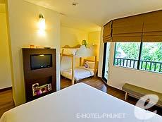 プーケット ファミリー&グループのホテル : アイビス プーケット カタ(1)のお部屋「ファミリー ルーム」