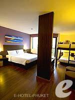 プーケット 5,000~10,000円のホテル : アイビス プーケット パトン(Ibis Phuket Patong)のファミリールームの設備 Room View