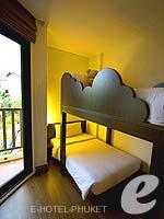 プーケット 5,000~10,000円のホテル : アイビス プーケット パトン(Ibis Phuket Patong)のファミリールームの設備 Bedroom