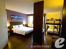 プーケット 5,000~10,000円のホテル : アイビス プーケット パトン(1)のお部屋「ファミリー」