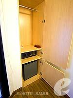 サムイ島 5,000円以下のホテル : アイビス サムイ ボプット(Ibis Samui Bophut)のスタンダードルームの設備 Closet