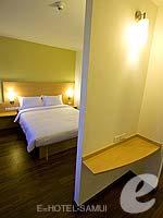 サムイ島 5,000円以下のホテル : アイビス サムイ ボプット(Ibis Samui Bophut)のファミリー ルームルームの設備 Bedroom