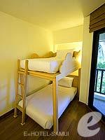 サムイ島 5,000円以下のホテル : アイビス サムイ ボプット(Ibis Samui Bophut)のファミリー ルームルームの設備 Bunk Bed