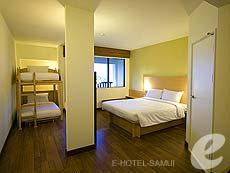 サムイ島 5,000円以下のホテル : アイビス サムイ ボプット(1)のお部屋「ファミリー ルーム」