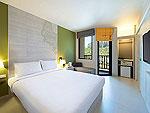 クラビ ペット同伴可のホテル : アイビス スタイリッシュ クラビ アオナン(Ibis Styles Krabi Ao Nang)のスタンダードルームの設備 Bedroom