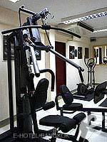 バンコク プールありのホテル : イム フュージョン スクンビット 「Fitness Gym」