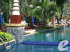 サムイ島 チョンモーンビーチのホテル : インペリアル ボートハウス ビーチ リゾート(1)のお部屋「プール サイド テラス」