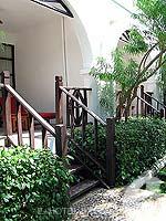 サムイ島 チョンモーンビーチのホテル : インペリアル ボートハウス ビーチ リゾート(Imperial Boat House Beach Resort)のハネムーンスイートルームの設備 Entrance