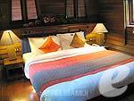 サムイ島 チョンモーンビーチのホテル : インペリアル ボートハウス ビーチ リゾート(Imperial Boat House Beach Resort)のボートスイートルームの設備 Bedroom
