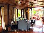 サムイ島 チョンモーンビーチのホテル : インペリアル ボートハウス ビーチ リゾート(Imperial Boat House Beach Resort)のボートスイートルームの設備 Living Room