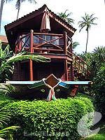 サムイ島 チョンモーンビーチのホテル : インペリアル ボートハウス ビーチ リゾート(Imperial Boat House Beach Resort)のボートスイートルームの設備 Room View