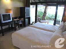 プーケット カップル&ハネムーンのホテル : インピアナ プーケット パトン(1)のお部屋「スーペリアガーデンビュー」