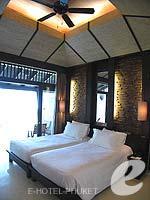 プーケット スパ併設のホテル : インピアナ プーケット パトン(Impiana Phuket Patong)のスーペリア シービュールームの設備 Bedroom