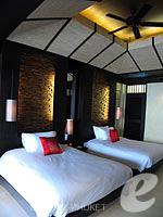 プーケット カップル&ハネムーンのホテル : インピアナ プーケット パトン(Impiana Phuket Patong)のジュニア スイートルームの設備 Bedroom
