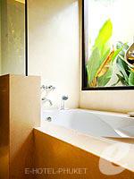プーケット スパ併設のホテル : インピアナ プーケット パトン(Impiana Phuket Patong)のジュニア スイートルームの設備 Bath Room
