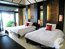 プーケット スパ併設のホテル : インピアナ プーケット パトン(1)のお部屋「ジュニア スイート」