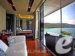 プーケット 会議室ありのホテル : インピアナ プライベート ビラ(Impiana Private Villas)のハネムーン スイートルームの設備 Room View