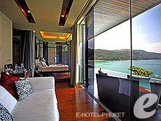プーケット ファミリー&グループのホテル : インピアナ プライベート ビラ(1)のお部屋「ハネムーン スイート」