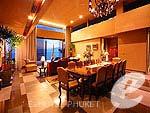 プーケット ファミリー&グループのホテル : インピアナ プライベート ビラ(Impiana Private Villas)のファミリー ヴィラ(2ベッドルーム)ルームの設備 Room View