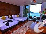 プーケット ファミリー&グループのホテル : インピアナ プライベート ビラ(Impiana Private Villas)のロイヤル ビラ 2ベッドルームルームの設備 Room View