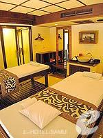 サムイ島 ビーチフロントのホテル : インピアナ リゾート サムイ 「Spa」
