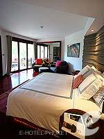 プーケット ヴィラコテージのホテル : ザ スレート(The Slate)のプレミアム パールベッド スイートルームの設備 Bedroom
