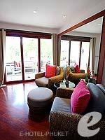 プーケット ヴィラコテージのホテル : ザ スレート(The Slate)のプレミアム パールベッド スイートルームの設備 Living Room