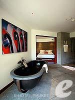 プーケット ヴィラコテージのホテル : ザ スレート(The Slate)のプレミアム パールベッド スイートルームの設備 Bathroom