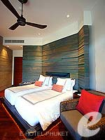 プーケット ヴィラコテージのホテル : ザ スレート(The Slate)のプール パヴィリオンルームの設備 Bedroom