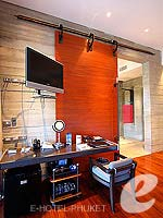 プーケット ヴィラコテージのホテル : ザ スレート(The Slate)のプール パヴィリオンルームの設備 Room View