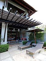 プーケット ヴィラコテージのホテル : ザ スレート(The Slate)のプール パヴィリオンルームの設備 Private Garden