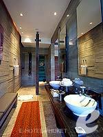 プーケット ヴィラコテージのホテル : ザ スレート(The Slate)のプール パヴィリオンルームの設備 Bathroom