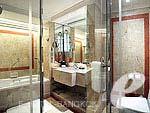 バンコク サイアム・プラトゥーナムのホテル : インター コンチネンタル バンコク(Inter Continental Bangkok)のグランド デラックスルームの設備 Bath Room