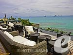 Lounge / Inter Continental Samui Baan Taling Ngam Resort, มองเห็นวิวทะเล