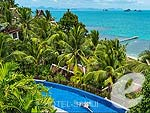 Swimming Pool / Inter Continental Samui Baan Taling Ngam Resort, มองเห็นวิวทะเล