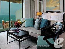 サムイ島 オーシャンビューのホテル : インターコンチネンタル サムイ バーン タリン ガム リゾート(1)のお部屋「オーシャンビュー」