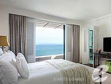 サムイ島 オーシャンビューのホテル : インターコンチネンタル サムイ バーン タリン ガム リゾート(1)のお部屋「オーシャン ビュー ジュニア スイート」