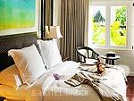 サムイ島 オーシャンビューのホテル : インターコンチネンタル サムイ バーン タリン ガム リゾート(Inter Continental Samui Baan Taling Ngam Resort)の2ベッドルーム パノラマビュー ヴィラルームの設備 Bed Room