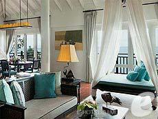 サムイ島 オーシャンビューのホテル : インターコンチネンタル サムイ バーン タリン ガム リゾート(1)のお部屋「2ベッドルーム パノラマビュー ヴィラ」