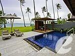 サムイ島 オーシャンビューのホテル : インターコンチネンタル サムイ バーン タリン ガム リゾート(Inter Continental Samui Baan Taling Ngam Resort)のビーチフロント プールヴィラルームの設備 Private Pool