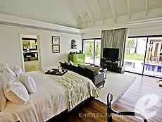 サムイ島 オーシャンビューのホテル : インターコンチネンタル サムイ バーン タリン ガム リゾート(1)のお部屋「ビーチフロント プールヴィラ」