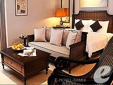 サムイ島 オーシャンビューのホテル : インターコンチネンタル サムイ バーン タリン ガム リゾート(1)のお部屋「3ベッドルーム ナパ リザーブ ヴィラ」