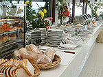 Breakfast : Iyara Beach Hotel & Plaza, Chaweng Beach, Phuket